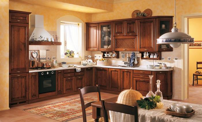 Cucina classica 10 checchin elettrodomestici - Cucina scavolini classica ...